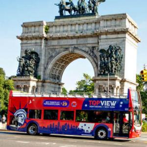 TopView Sightseeing - 紐約觀光巴士和觀光套餐:低至5折