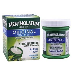 Mentholatum Original Chest Rub Ointment - 3 oz Container @ Amazon