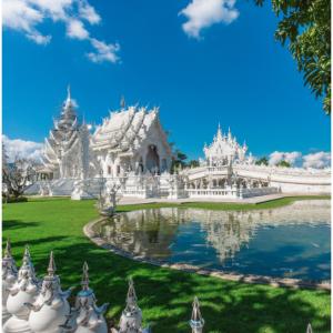 清迈旅行特价中,双龙寺、艺术庙、大象营等必去景点都有 @Klook