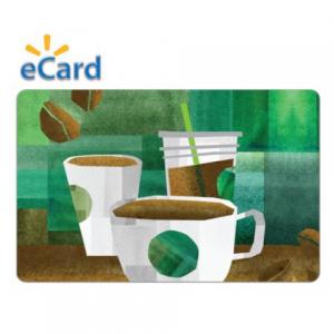 Amazon - 星巴克禮卡,免費電郵