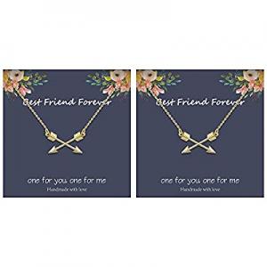 IEFLIFE Friendship Gifts Best Friend Necklace now 60.0% off , Triangle Necklace Friendship Gifts A..