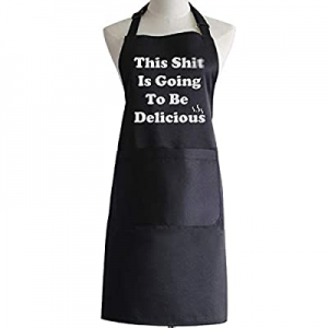 Funny Gifts BBQ Cooking Aprons for Dad Father Boyfriend Men now 50.0% off
