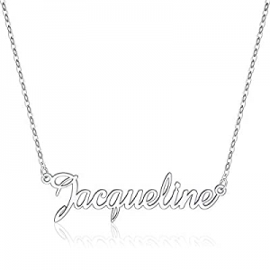 One Day Only!IEFLIFE Custom Name Necklace Personalized now 60.0% off , 14K Gold Plated Personalize..