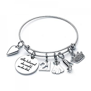 One Day Only!Birthday Gifts for Girls Women Her now 70.0% off , Birthday Bracelets for Women Girls..