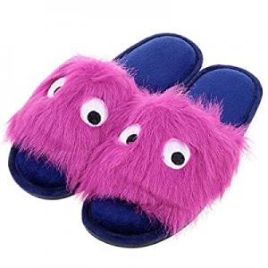 50.0% off Harebell Women's House Slippers Plush Fleece Lining Home Shoes Memory Foam Slip on Indoo..