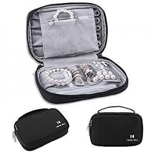 One Day Only!Jewelry Organizer Bag Travel Jewelry Storage Cases now 62.0% off , Lekesky Women Port..