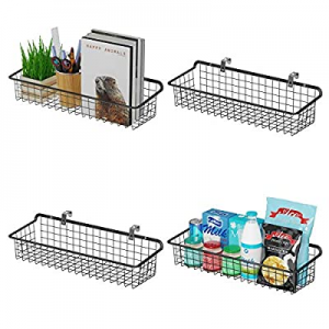 One Day Only!Wall Baskets now 20.0% off , Veckle Wall Mount Wire Basket for Storage Organizer Meta..