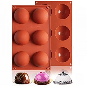 One Day Only!Large Hot Chocolate Bomb Mold now 50.0% off , Valentines Day Gifts for Her, Silicone ..