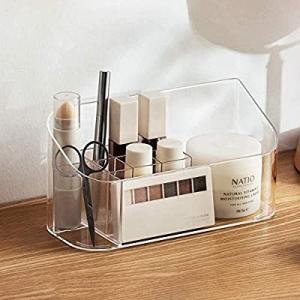 40.0% off SUNFICON Makeup Tray Organizer Bathroom Cabinet Cosmetic Storage Tray Holder Countertop ..