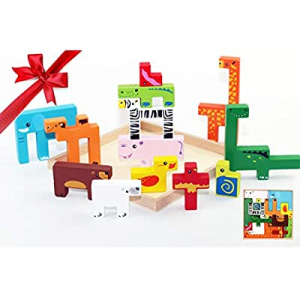 Wooden Baby Toys Toddler Puzzles Plan Toys Wooden Toys for Toddlers Colorful Brain Teaser now 50.0..