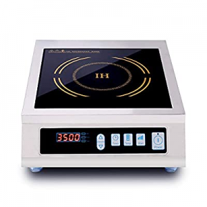 10.0% off JOZOOES 3500 Watts / 220V Induction Cooktop Commercial Countertop Induction Cooker Porta..