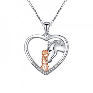45.0% off Sterling Silver Rainbow Unicorn Necklace Puppy Cat Paw Horse Narwhal Animal Pendant Neck..