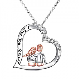 45.0% off Sisters Gifts from Sister Brother Sterling Silver Always My Sister Forever My Friend Hea..