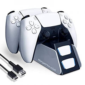 RegeMoudal Charger Station for PS5 Controller now 50.0% off , Dual Controller Charger Dock for Pla..
