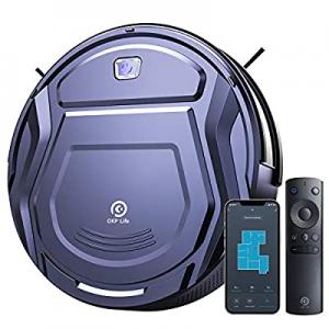 OKP Life K2 Robot Vacuum Cleaner 1800 mAh, Blue now 80.0% off