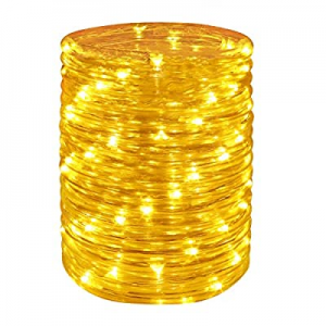 One Day Only!Wstan LED Rope Lights  now 50.0% off ,Amber Strip Light,12V Indoor Outdoors Plug in,1..