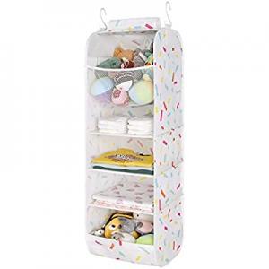 One Day Only!StorageWorks 5-Shelf Jumbo Hanging Closet Organizer now 40.0% off , Nursery Hanging O..