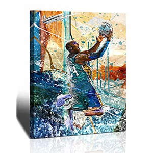 30.0% off Kobe Bryant Wall Art Basketball Player Canvas Wall Art Painting Sports Posters Artwork H..