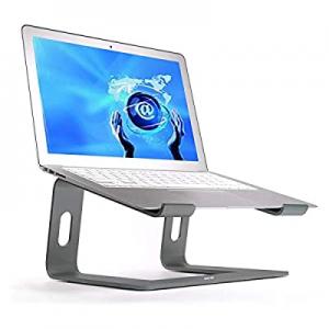 Laptop Stand now 50.0% off , Aluminum Computer Riser, Detachable Ergonomic Laptops Elevator for De..