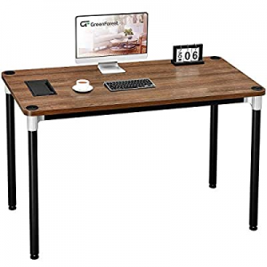 """GreenForest Computer Desk 47"""" Home Office Writing Small Desk now 70.0% off , Modern Simple PC Tabl.."""