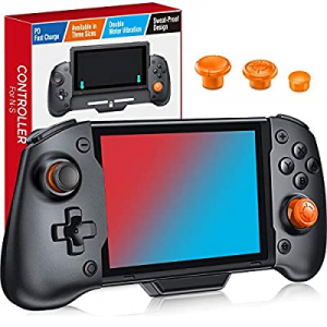 One Day Only!Kydlan Pro Controller for Nintendo Switch now 50.0% off , Joycon Pro Controller for S..