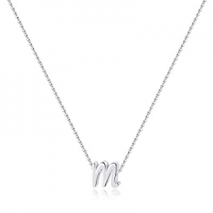 One Day Only!M MOOHAM Dainty Gold Initial Necklace for Women Girls now 50.0% off , 14K Gold Plated..