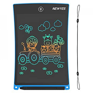 50.0% off NEWYES 8.5 Inches Colored Doodle Board for Toddlers LCD Screen Writing Tablet with Lock ..
