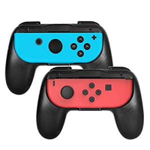 One Day Only!Grip kit for Nintendo Switch Joy-Con Controllers now 50.0% off ,Wear-Resistant Joy-co..