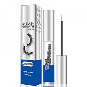 Premium Eyelash Growth Serum and Eyebrow Enhancer Brow Serum with Biotin & Natural Growth Peptides..