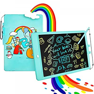 LUOHE LCD Writing Tablet Doodle Board now 50.0% off , 10 Inch Erasable Colorful Drawing Tablet Wri..