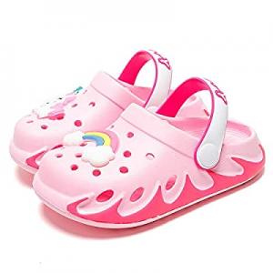 KUBUA Kids Garden Clogs Slip On Water Shoes for Boys Girls now 62.0% off
