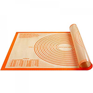 Non-slip Silicone Pastry Mat Extra Large with Measurements 36'' By 24'' for Kneading Mat now 25.0%..