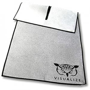 VISUALIZE Wing Golf Towel - Unique Center-Cut Waffle-Shammy Hybrid Construction now 15.0% off , Pr..