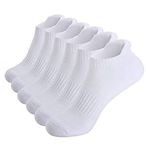 Felicigeely Ankle Socks now 30.0% off , 6 Pairs Low Cut Athletic Breathable Tab Socks, Cushioning ..