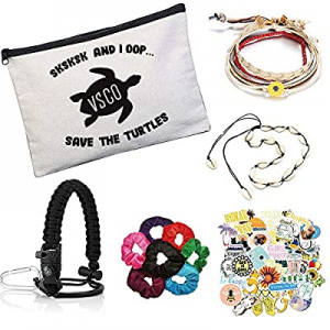 VSCO Girl Stuff – Paracord Handle Flask Stickers for Water Bottles now 50.0% off , Shell Necklace ..