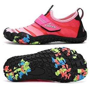 58.0% off UBFEN Water Shoes for Kids Boys Girls Aqua Socks Barefoot Beach Sports Swim Pool Quick D..