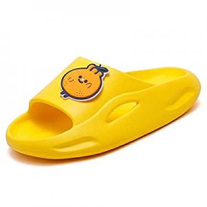 70.0% off UBFEN Kids Shower Slides Boys Girls Sandals Beach Pool Non-Slip Slippers Summer Water Sh..