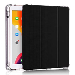 DDup iPad 7th Generation Case - New iPad 10.2 Case with Pencil Holder now 50.0% off , Dual Shockpr..