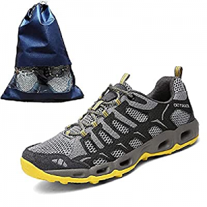 One Day Only!Men's Low-top Lightweight Hiking Shoes now 60.0% off , Non-Slip, Breathable Outdoor S..
