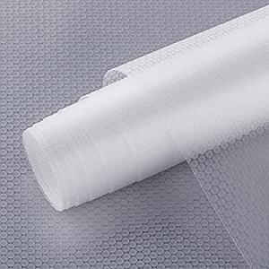 One Day Only!Shelf Liner now 50.0% off , Non-Slip Cabinet Liner, StaHom Drawer Liner for Kitchen N..