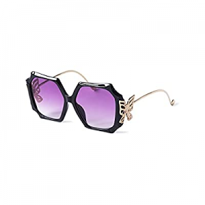 15.0% off CHAOBUND Trendy Butterfly Sunglasses for Women - Fashion Sunglasses for Women with UV Pr..