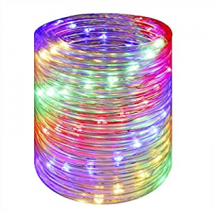 Wstan LED Rope Lights now 50.0% off ,Multicolor Fairy Lighting,12V Indoor Outdoors Plug in,16ft Co..