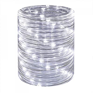LED Rope Lights 16ft Daylight Waterproof Mini Twinkle Tube Fairy Light now 50.0% off , Low Voltage..