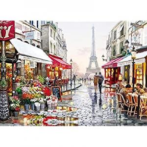 1000 Piece Puzzles for Adults Kids now 60.0% off , Jigsaw Puzzles 1000 Pieces -Paris Flower Street..