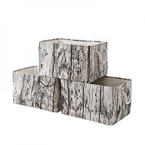 50.0% off TcaFmac Fabric Storage Basket Set[3-Pack] Closet Storage Bins Decorative Storage Baskets..