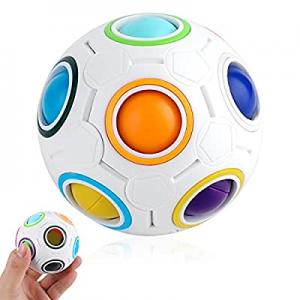One Day Only!TAFULOR Rainbow Ball now 50.0% off ,Puzzle Ball,Fidget Ball,Fidget Toys,Magic Cube Ba..