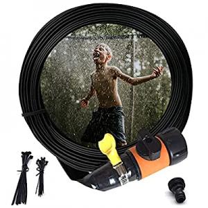 ButyHome Orange Trampoline Sprinklers for Kids now 70.0% off , Outdoor Water Play Sprinklers, Wate..