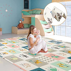 One Day Only!Semaco Sensory & Learning Baby Play Mat,Extra Large Baby Crawling mat now 40.0% off ,..