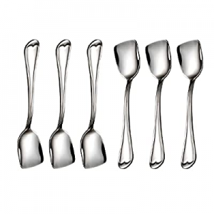 Ice Cream Spoons now 30.0% off ,Dessert Spoons 18/10 Stainless Steel Spoon set of 6, Shovel Spoons..
