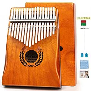 Kalimba 17 Keys Thumb Piano now 50.0% off ,Portable Mbira Finger Piano, African Musical Instrument..